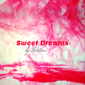 "Album or Book Cover ""Sweet Dreams"""