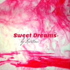 "Album or Book Cover ""Sweet Dreams"""