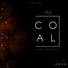ALBUM TEASER | COAL Square (1:1) template