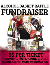 Alcohol Basket raffle