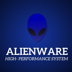 Alienware laptop template