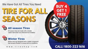 All Season Tire Center Digital Display Video