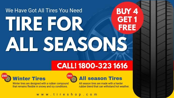 All Season Tire Deal Digital Display Ad