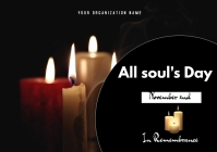 All souls day flyer 2021 A3 template