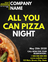 All you can eat pizza night 2