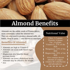 Almond Health Benefits Video