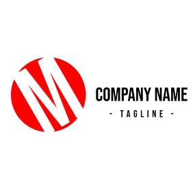 alphanumeric m logo design