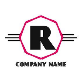 Alphanumeric r logo design