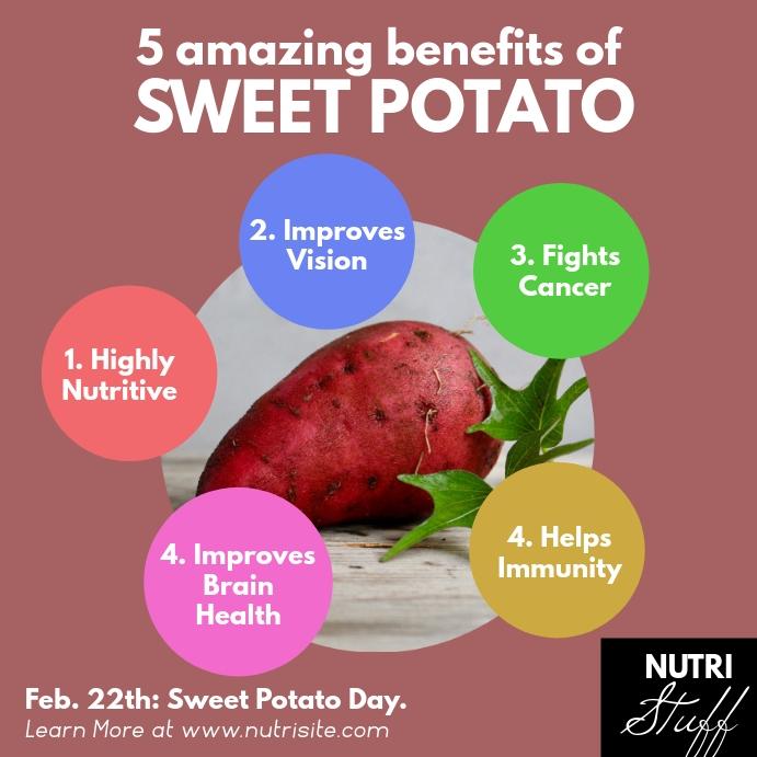 Amazing Benefits of Sweet Potato Square Post