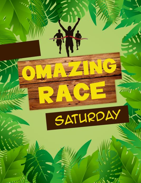 Amazing Race-Jungle Theme