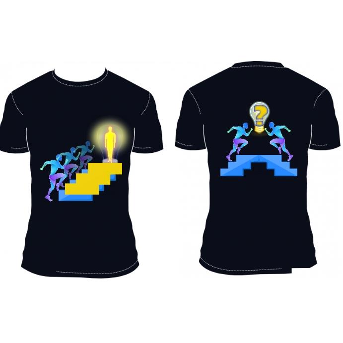 Ambition Fitness T-shirt DESIGN Template Vierkant (1:1)