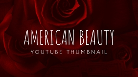 American Beauty Flower Youtube Thumbnail