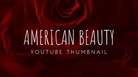 American Beauty Flower Youtube Thumbnail