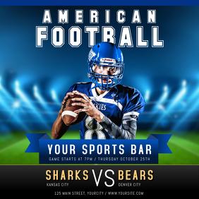 American Football Instagram Image