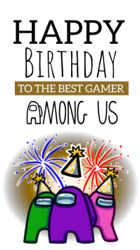 among us game instagram story design template