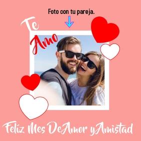 Amor y Amistad Instagram-bericht template