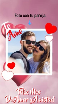 Amor y Amistad Instagram Story template