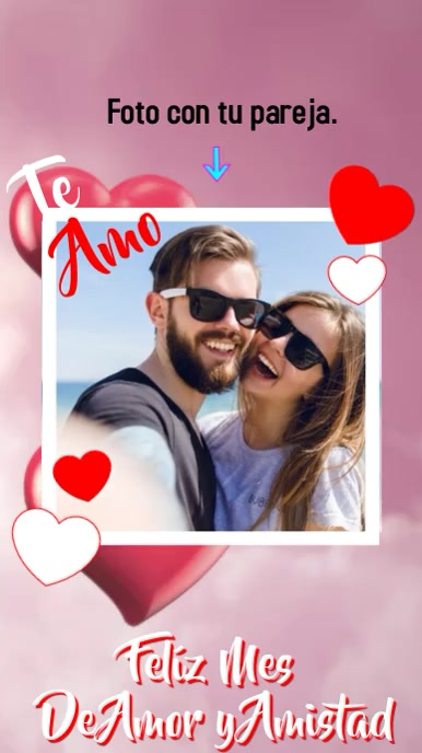 Amor y Amistad Instagram 故事 template