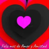Amor y amistad Square (1:1) template