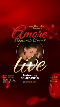 Amore Romantic concert video post