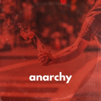 Anarchy Molotov Dramatic Picture Album Art ปกอัลบั้ม template