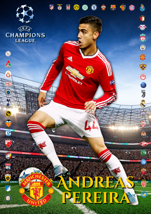 Andreas Pereira Man United
