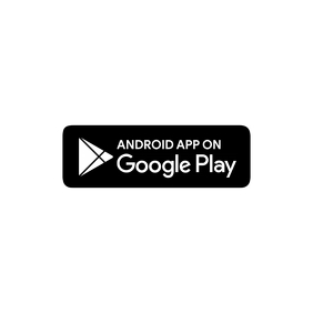 Android App Download Button Логотип template