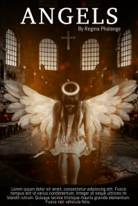 Angel Book cover movie film template