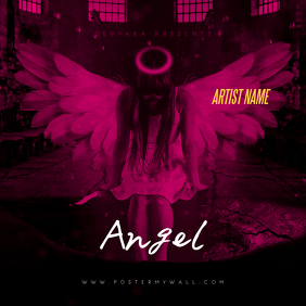 Angel CD Cover Art Template