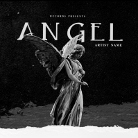 Angel Love mixtape cover art design template Pochette d'album