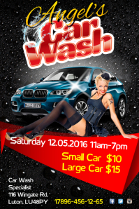 Angel's Car Wash Poster