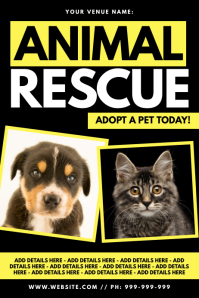 Animal Rescue Poster