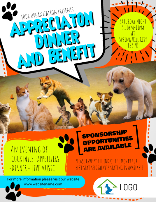 Animal rescue flyer template postermywall for Dog adoption flyer template
