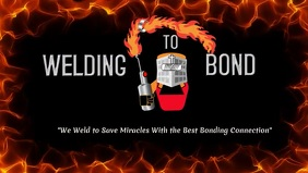 Animate Through the Fire Welder's Theme Templ Видеообложка профиля Facebook (16:9) template