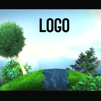 animated ECO logo DESIGN template