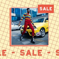 Animated Fashion Store Sale Instagram Video T template