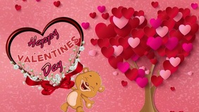 Animated valentine's day E-card