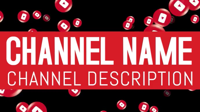 Animated YouTube Channel Art Template