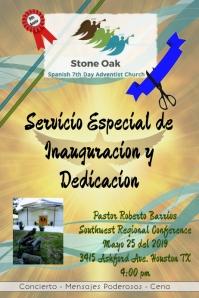 Aniversario Iglesia/Church Anniversary/Inauguration