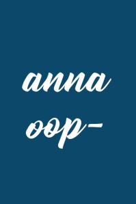 anna oop-