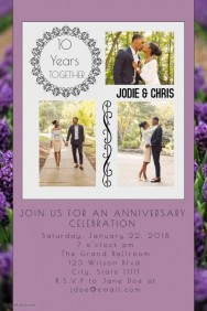 Anniversary Celebration Invitation