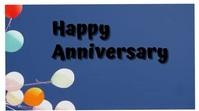 Anniversary Pantalla Digital (16:9) template