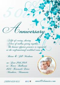 Anniversary Invitation Template