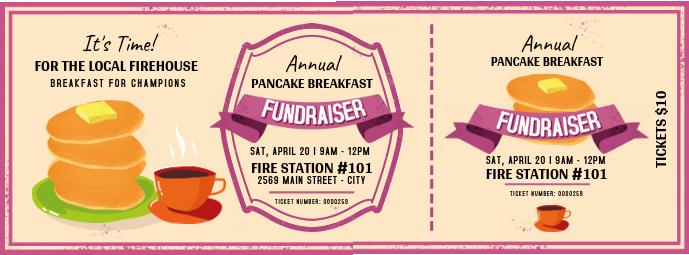 Annual Breakfast Fundraiser Ticket Facebook Cover