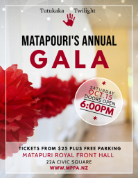 Annual Gala Event Flyer