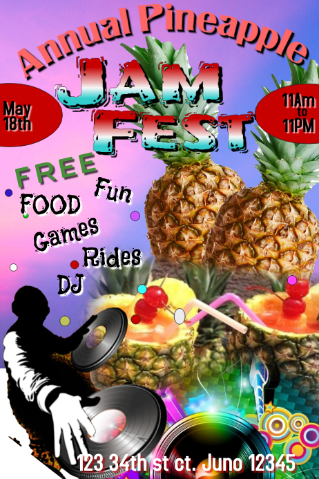 Annual Pineapple Jam Fest
