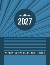 Annual Report 2027 (Blue)