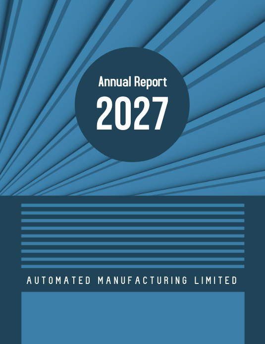 Annual Report 2027 (Blue)