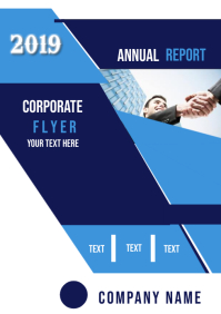 Annual Report + Corporate Flyer