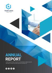Annual Report Cover Design A4 template